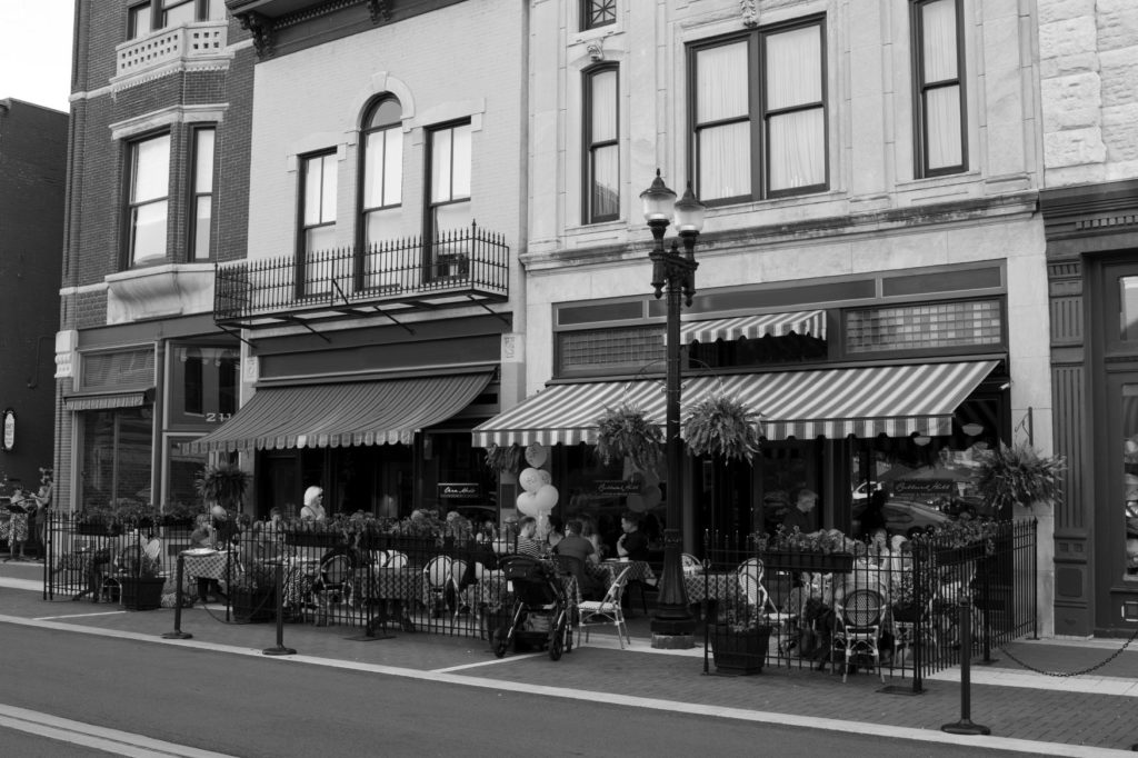 Small Downtown Storefronts