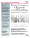 Human Development & Technology in US Counties 2017 (Cover Image)