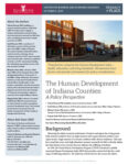 The Human Development Index of Indiana 2010 Counties: A Policy Perspective (Cover Image)