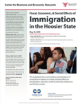 Fiscal, Economic, and Social Effects of Immigration in the Hoosier State 2019 (Cover Image)